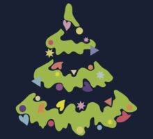 Green Xmas Tree by VioDeSign