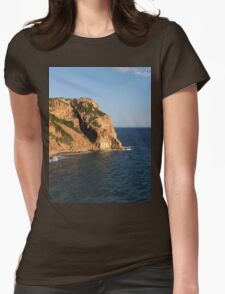a wonderful Greece landscape Womens Fitted T-Shirt