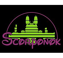 The Magical World of Scorponok - G1 Colors Photographic Print