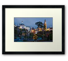 Portmeirion village Framed Print