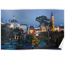 Portmeirion village Poster