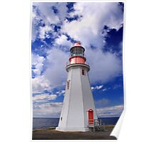 Point Riche Lighthouse Poster