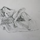 Life Drawing 11 by Mike Paget