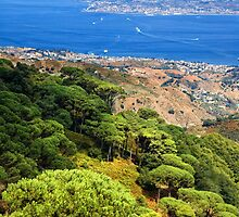 Messina Strait - Italy by Silvia Ganora