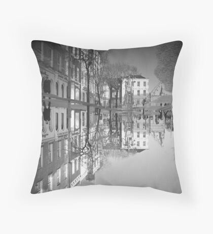 Flooding Wrecks Your Head Throw Pillow