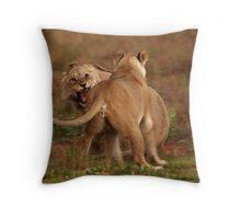 Argument Throw Pillow