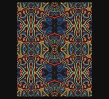 Tribal Visions Psychedelic Abstract Pattern 1 Kids Clothes