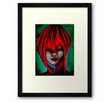 Young Vampire Framed Print