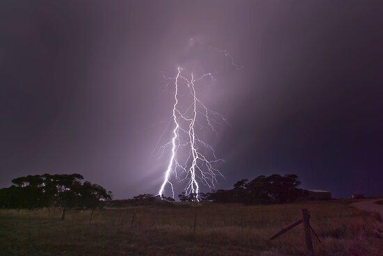 Peake Hill Lightning by Matt Harvey