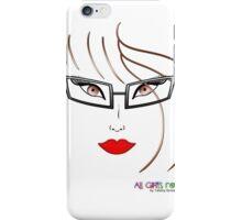 All Girls Rock iPhone Case/Skin