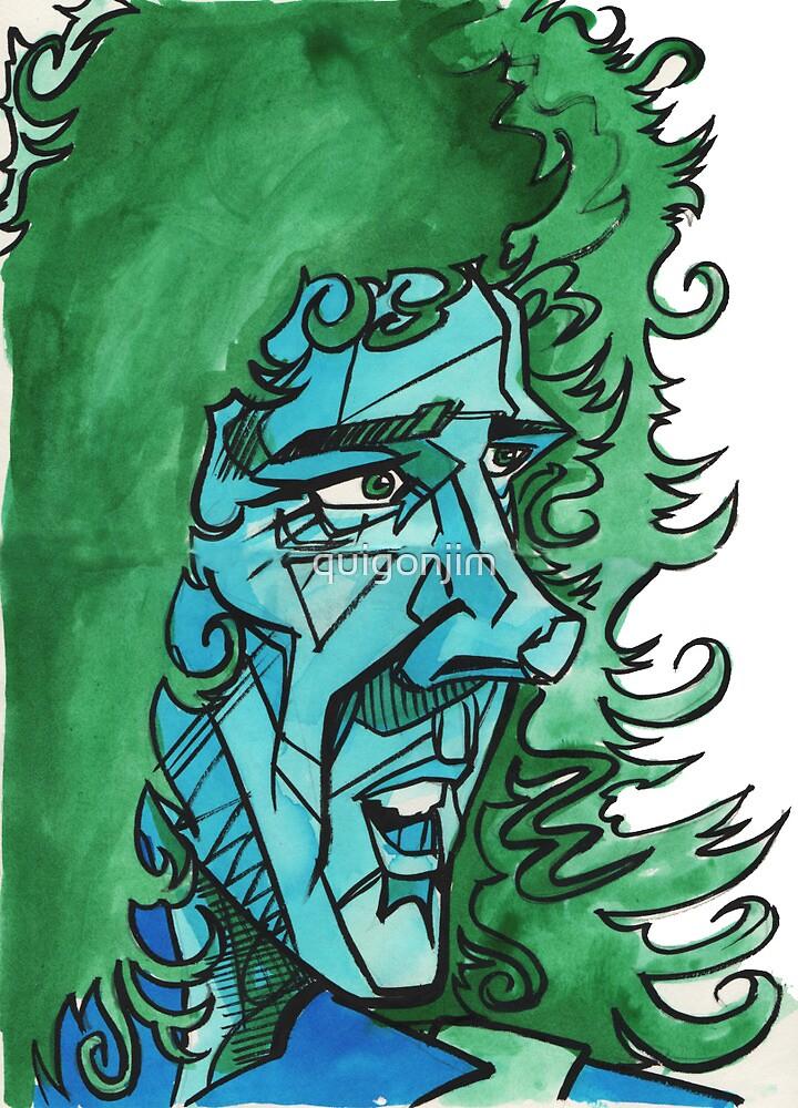 Brian May by quigonjim