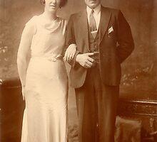 Old Irish Couple by Jack McCabe