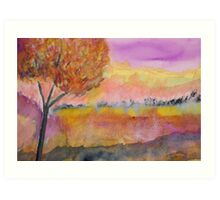 Essence autumnal Art Print