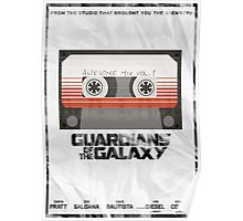 GotG - Tape Poster