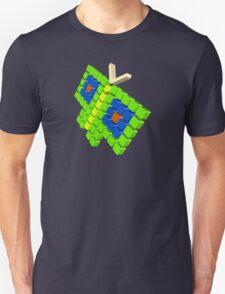Blocks of butterfly Unisex T-Shirt