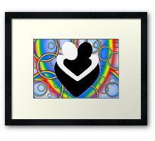 EMBRACE 5 Framed Print
