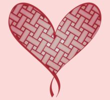 Pleated heart by anissa147