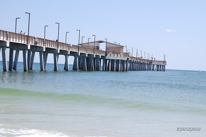New fishing pier orange beach al by zpawpaw redbubble for Fishing orange beach al