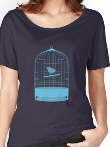 bird in cage Women's Relaxed Fit T-Shirt
