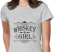 Whiskey Girl Womens Fitted T-Shirt