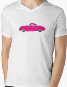 Pink Ghia Mens V-Neck T-Shirt
