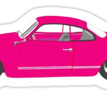 Pink Ghia Sticker