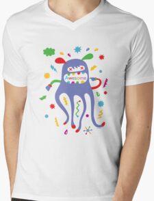 critter awesome - light Mens V-Neck T-Shirt