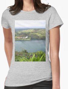an awe-inspiring Liberia landscape Womens Fitted T-Shirt