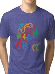 misfits - dark Tri-blend T-Shirt