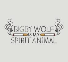 Bigby Wolf is My Spirit Animal T-Shirt