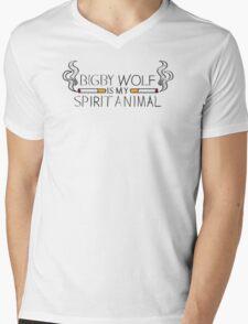Bigby Wolf is My Spirit Animal Mens V-Neck T-Shirt