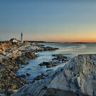 Cape Elizabeth Coastline by Jeff Palm Photography