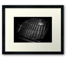 Grille Framed Print