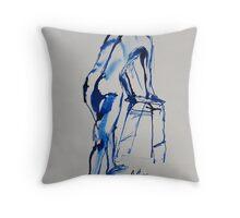 Life Drawing 14 Throw Pillow
