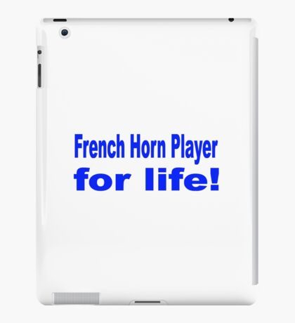 French Horn iPad Case/Skin