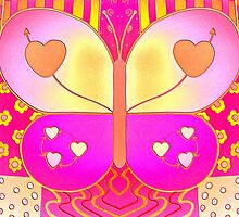 Happy Butterfly by TwinPowerTammy