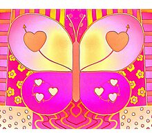 Happy Butterfly Photographic Print