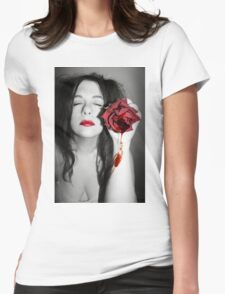 Every time hurts more than the first time Womens Fitted T-Shirt