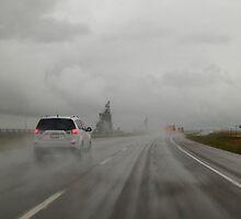 Rainy road by zumi