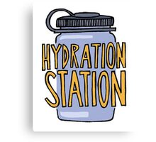 Hydration Station Canvas Print