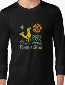 fiesta bird - dark Long Sleeve T-Shirt