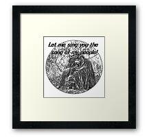 Song Ape Framed Print