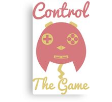 Control The Game v2! Canvas Print