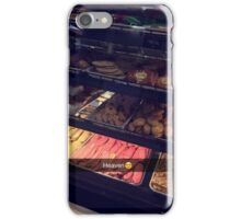 Snapchat cookies iPhone Case/Skin