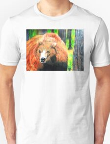 North American Grizzly Bear T-Shirt
