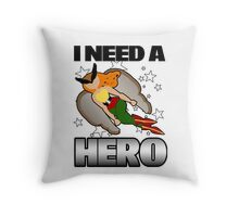 I Need a Hawkgirl Throw Pillow