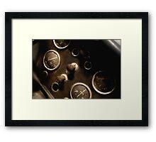 Forgotten Gauges Framed Print