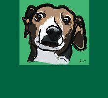Italian Greyhound_Background Unisex T-Shirt