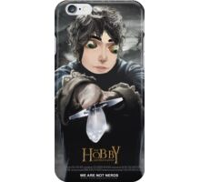 Loki hobbit gag iPhone Case/Skin