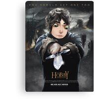 Loki hobbit gag Canvas Print